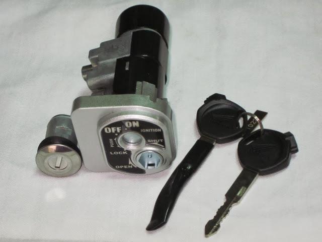 Bộ khóa điện Honda xe SH (có khóa từ chống chộm)