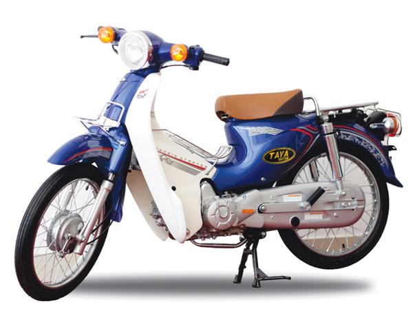 Xe Cub 81 TAYA nan hoa (xanh dương) HÀN QUỐC