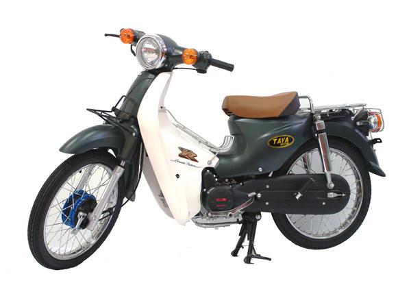 Xe CUB 81 xanh rêu (Nhật Bản)