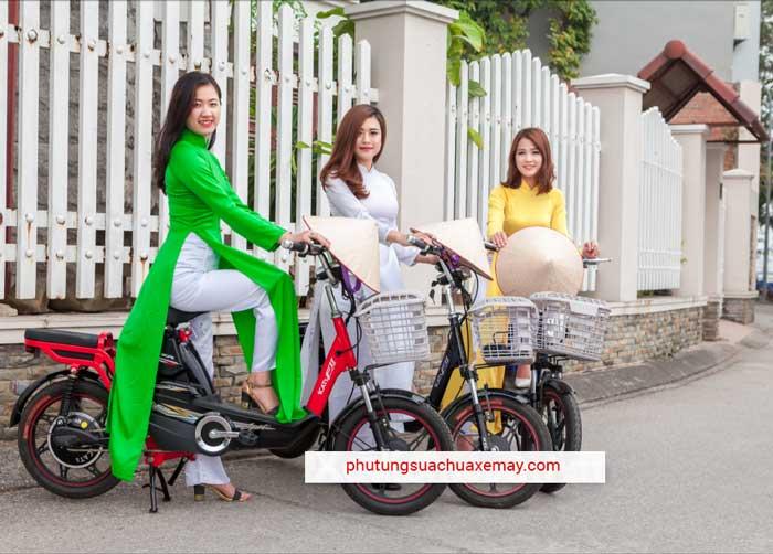 Xe đạp điện HTC Exciter
