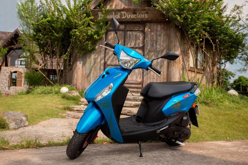 Xe ga 50cc TAYA MINI (xanh dương)