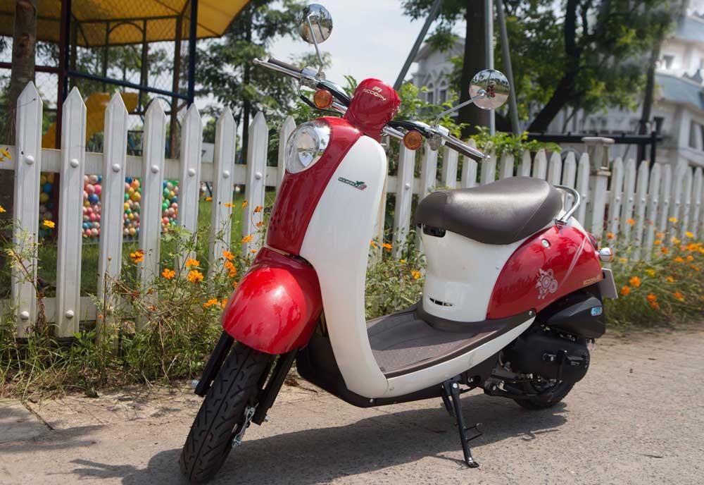 Xe ga 50cc TAYA SCOOPY (màu đỏ) NEW