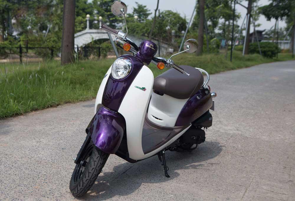 Xe ga 50cc TAYA SCOOPY (màu tím) NEW