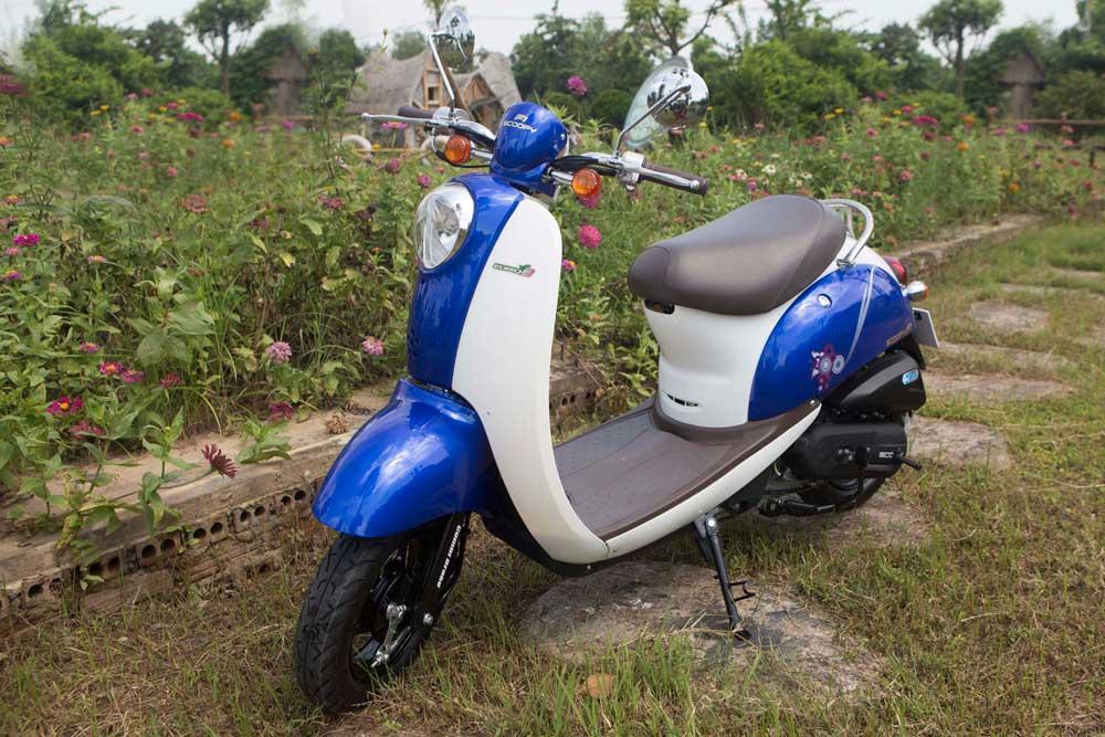 Xe ga 50cc TAYA SCOOPY (xanh dương) NEW