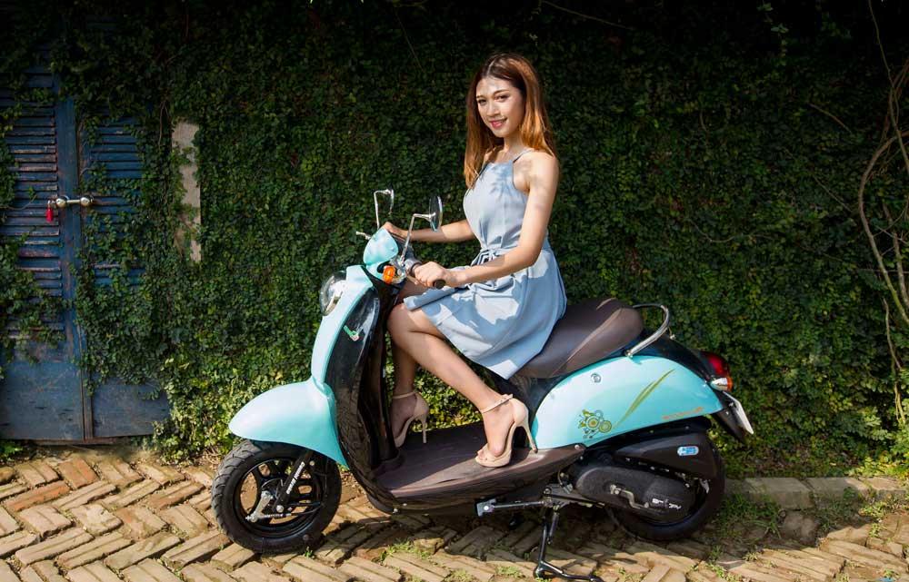 Xe ga 50cc TAYA SCOOPY (xanh ngọc) NEW