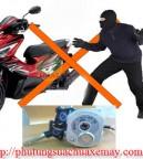 khóa xe máy an toàn