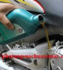 Thay dầu xe số Honda